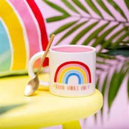 Chasing Rainbows Good Vibes Only Mug