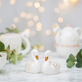 Freya Swan Salt & Pepper Shaker Set