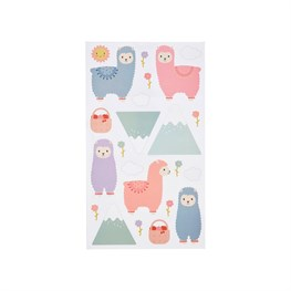 Little Llama Wall Stickers