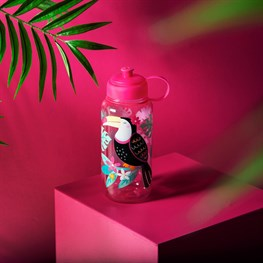 Tiki Toucan Water Bottle 1 Litre