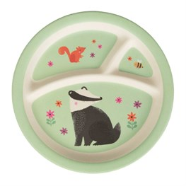 Woodland Friends Kid's Plate