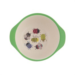 Busy Bugs Bamboo Kid's Bowl