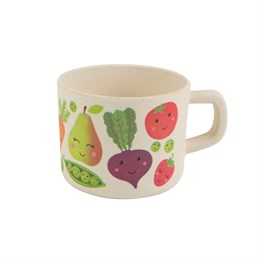 Happy Fruit & Veg Bamboo Kid's Mug