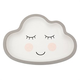 Sweet Dreams Cloud Bamboo Kid's Plate