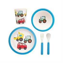 Transport Bamboo Tableware Set