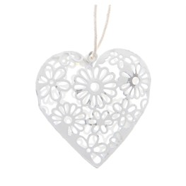 Set of 9 Heart Decorations