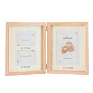 Woodland Baby Scan Multi Photo Frame
