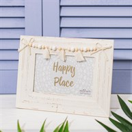 White Tassel Photo Frame