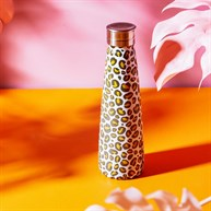 Leopard Love Stainless Steel Water Bottle