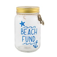 Beach Fund Jar Money Box