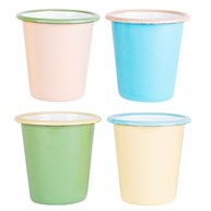 Two Tone Retro Enamel Camping Cup  (options available)
