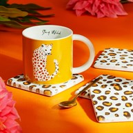 Leopard Love Coasters - Set of 4
