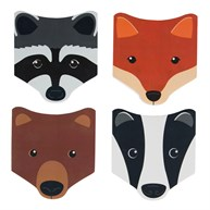 Woodland Animal Faces Notebook (options available)