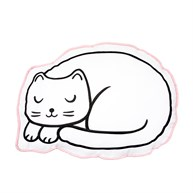 Cutie Cat Nap Time Decorative Cushion