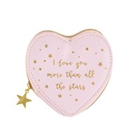 Scattered Stars Love You More Coin Purse
