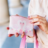 Pink Freya Swan Coin Purse