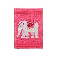 Mandala Elephant Passport Holder