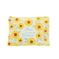Sunflower Mum Cotton Pouch