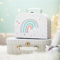 Baby Unicorn Suitcases - Set of 2
