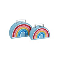 Chasing Rainbows Suitcases - Set of 2