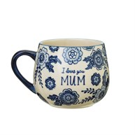 Blue Willow Mum Mug