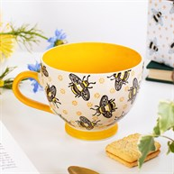 Busy Bees Stamped Mug