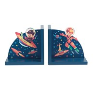 Retro Space Bookends