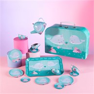 Alma Narwhal Kid's Tea Set