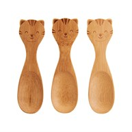 Tiger Bamboo Spoons - Set of 3