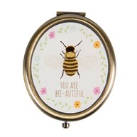 You Are Bee Autiful Oval Compact Mirror