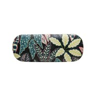 Variegated Leaves Glasses Case
