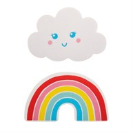 Rainbow & Cloud Nail File - 1 Piece