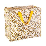 Natural Leopard Print Storage Bag