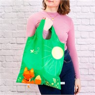 Fox Foldable Shopping Bag