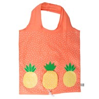 Tropical Pineapple Foldable Shopping Bag