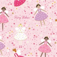 Fairy Wishes Wrapping Paper  - 3 Sheets