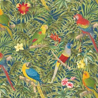 Parrot Paradise Wrapping Paper  - 3 Sheets