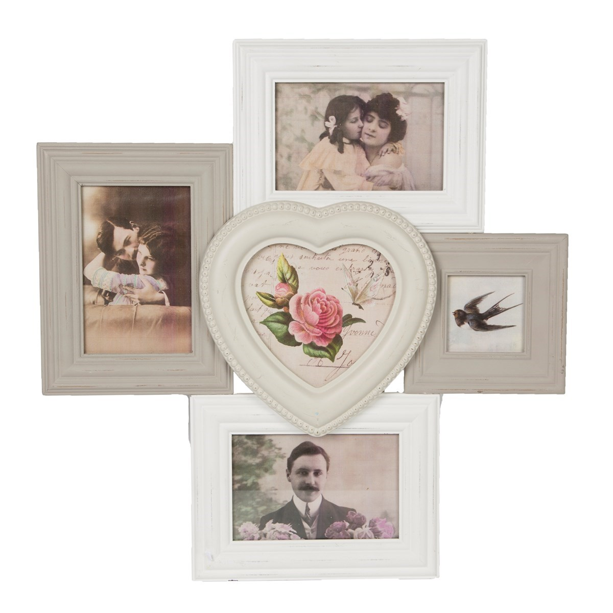 celeste heart multi photo frame default image