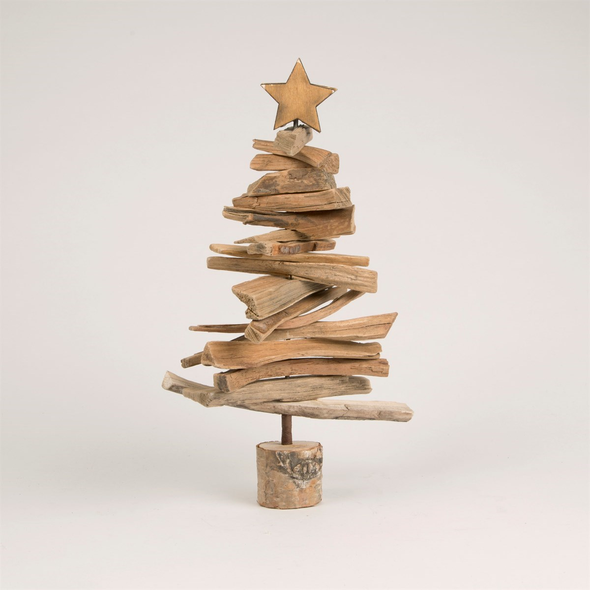 Mini Driftwood Christmas Tree Standing Decoration