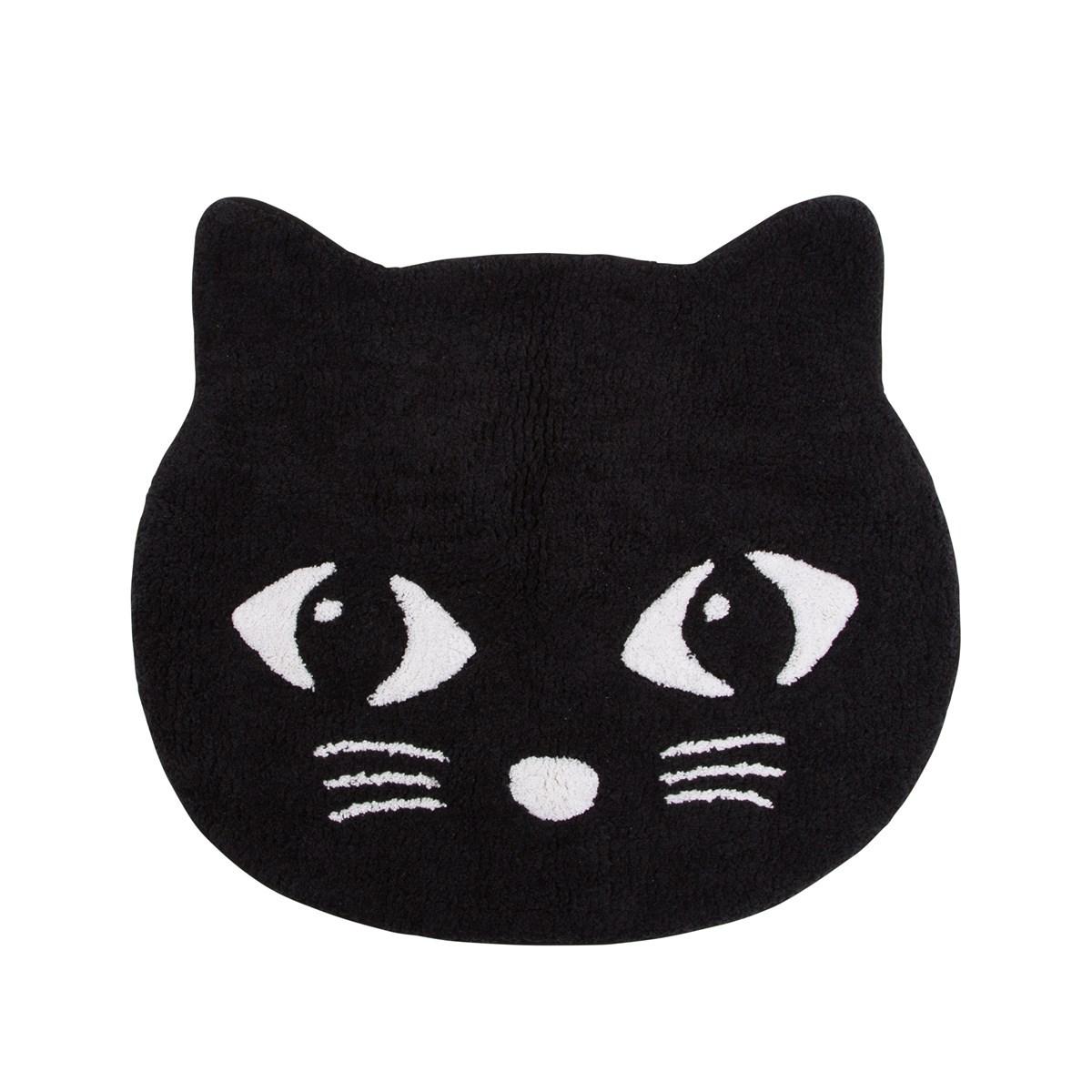Black Cat Rug Default Image