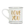 Gold Love You Mug Default Image