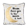 Mum Love You To The Moon and Back Cushion Default Image