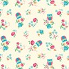 Jackie Owl Wrapping Paper  - 3 Sheets Default Image
