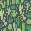 Colourful Cactus Wrapping Paper  Default Image