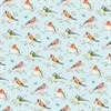 Garden Birds Wrapping Paper Default Image