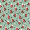 Christmas Robin Wrapping Paper  Default Image