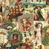 Festive Collage Wrapping Paper Default Image