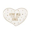 Modern Monochrome Love You Stars Trinket Dish Default Image