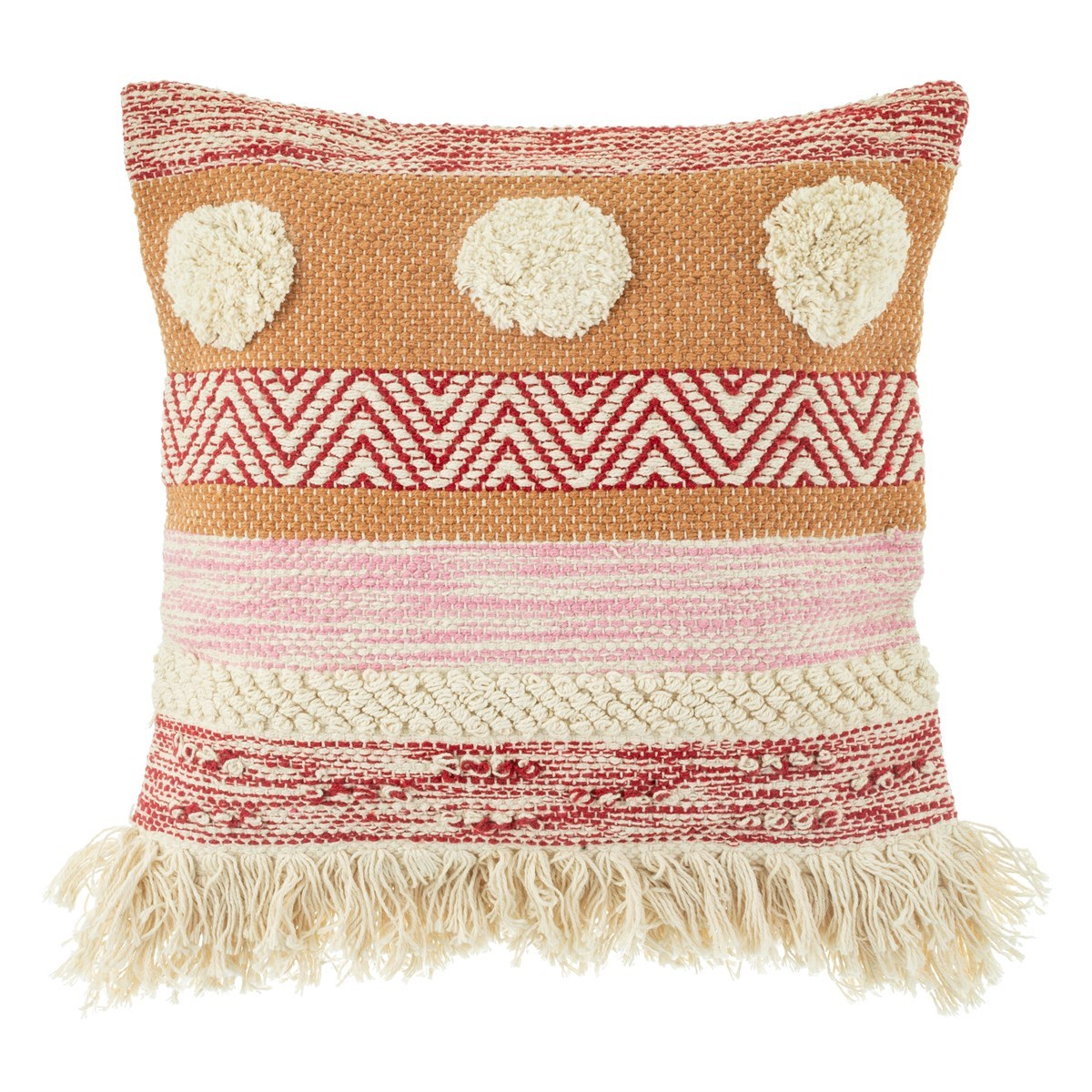 Sass /& Belle Lima Llama Cushion with Tassels