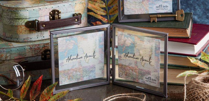 Vintage Map Collage Gifts
